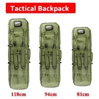 81cm / 94cm / 118cm Tactical Airsoft Rifle Gun Holsters Square Gun Case Hunting Rifle Gun Carry Shoulder Bag Outdoor Sport Bag