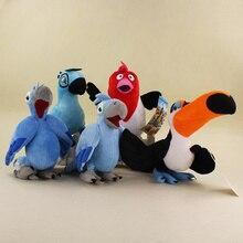 19 25cm Rio Movie Dolls Blu Jewel Pedro Macaw Stuffed Cute Animal Plush Toys