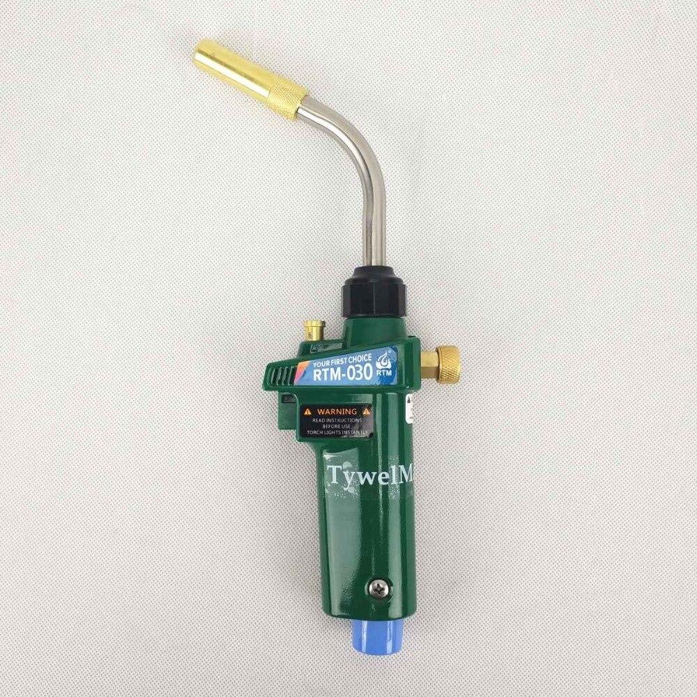 Горелка для МАПП газа лютоспавание МАПП/Газа Пропан пистолет нагреватель горелки ж самовоспламенение CGA600 для Медь/Алюминий сварки труб бар...