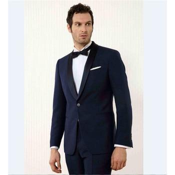 2017 Latest Coat Pant Designs Grey Tweed Men Suit Classic Slim Fit mens Blazer Masculino Custom Tuxedo 3 Piece Jacket suits