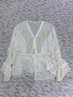 2019 новая весенняя одежда, красивая шелковая рубашка 0314