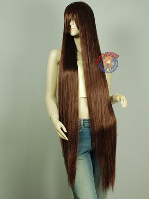 Wonderful 150cm, noblest long straight shindig hair Animation wig