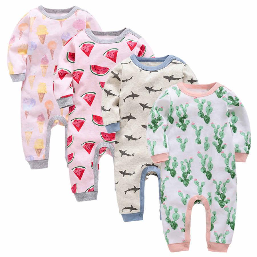 2019 baby kleidung langarm baumwolle infant baby kleidung romper cartoon kostüm ropa bebe 3 6 9 12 M neugeborenen junge mädchen kleidung