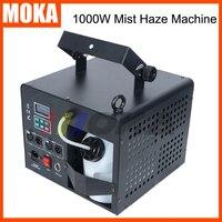 Новый 1000 Вт туман, дымка машина сценическая машина для дыма тумана эффект DJ оборудование DMX пульт дистанционного управления ЖК дисплей fogger д
