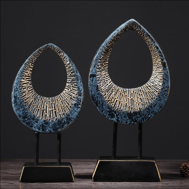 Modern Abstract Resin Sculpture Decoration Wine Cabinet Decorations Office Clothing Store Cafe Creative Decorations HandicraftsModern Abstract Resin Sculpture Decoration Wine Cabinet Decorations Office Clothing Store Cafe Creative Decorations Handicrafts