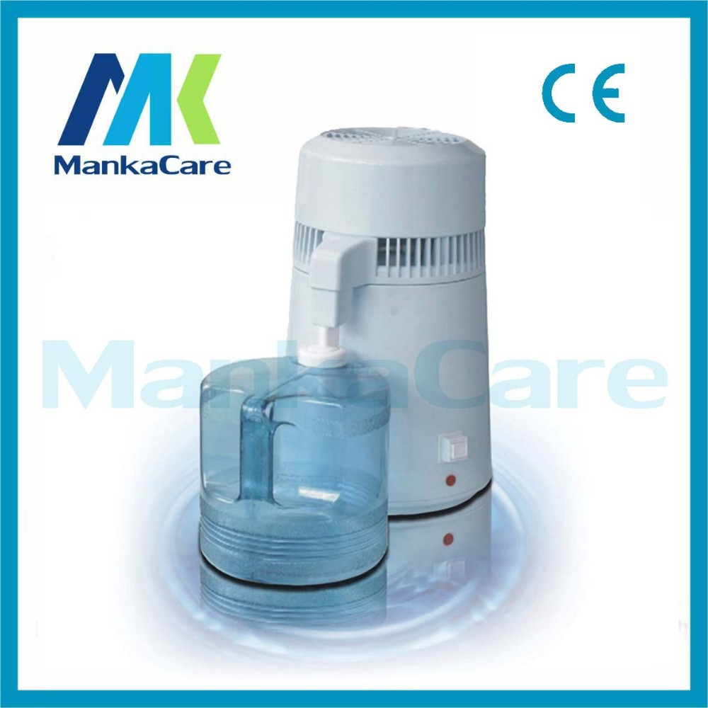 4 Liters Portable Water Distiller With CE/Table-top For Dental Clinic/Electric Distilled Water Machine/Pure Filter Purifier
