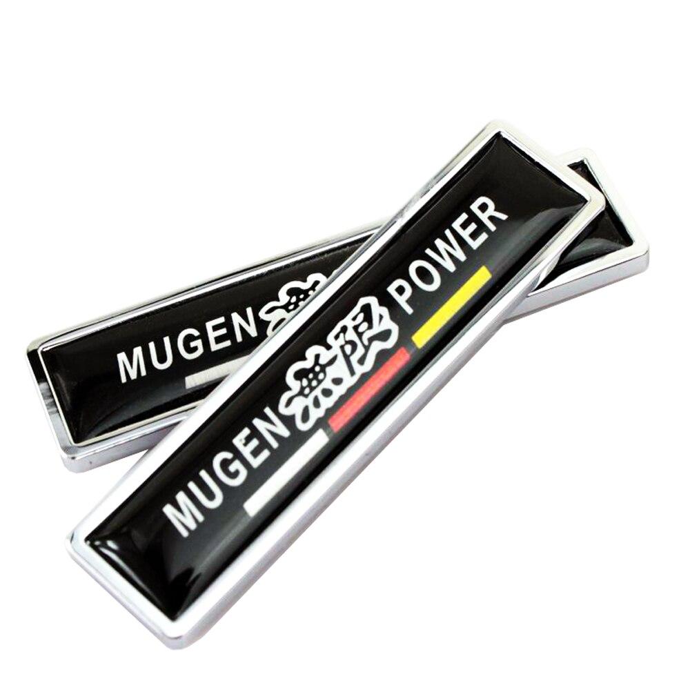 Украшения автомобиля этикета боковой двери Стикеры для Honda Mugen Логотип Accord Civic CRV Fit HR-V Vezel Odyssey города джаза Jade поток Crider