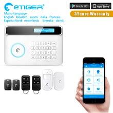 2017 Etiger GSM WIFI Residence Burglar Safety Alarm System Distant Management Equipment Infrared Detector Door Sensor Distant Management equipment