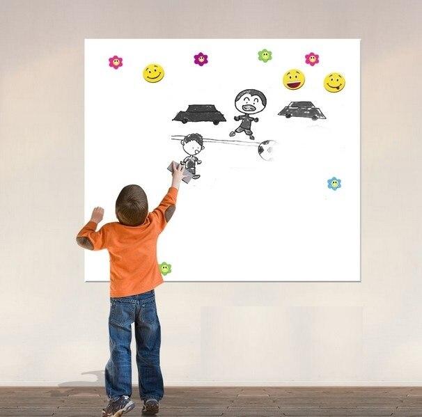 40x60cm flexible vinyl whiteboard wall sticker memo home office