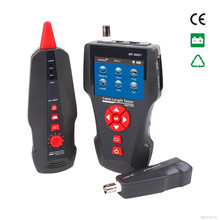 Free shipping, Noyafa NF-8601 Multi-functional Nework cable tester For RJ45, RJ11, BNC, PING/POE with CE Passed