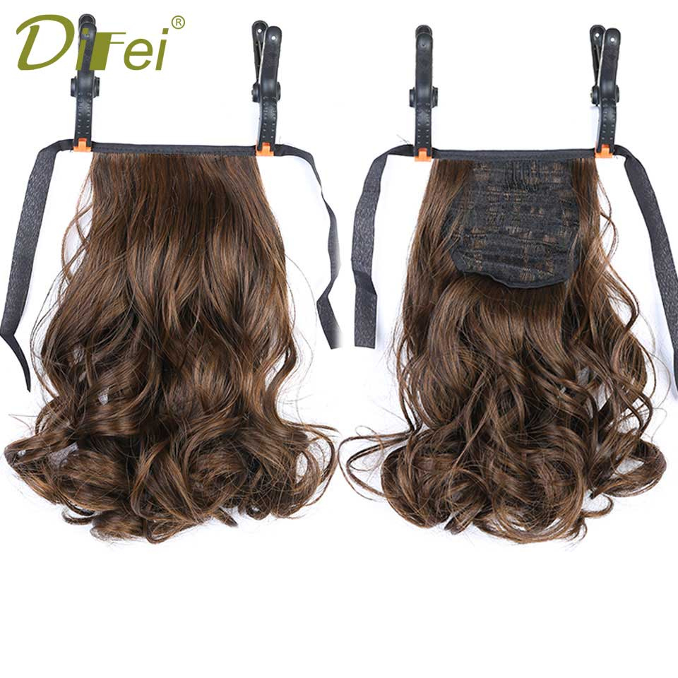 US $3.22 41% OFF|DIFEI Short Clip In Drawstring