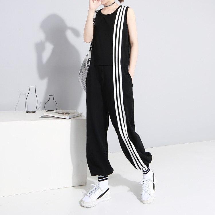 New Fashion Style Romper Sleeveless Striped Jumpsuit Fashion Nova Clothing