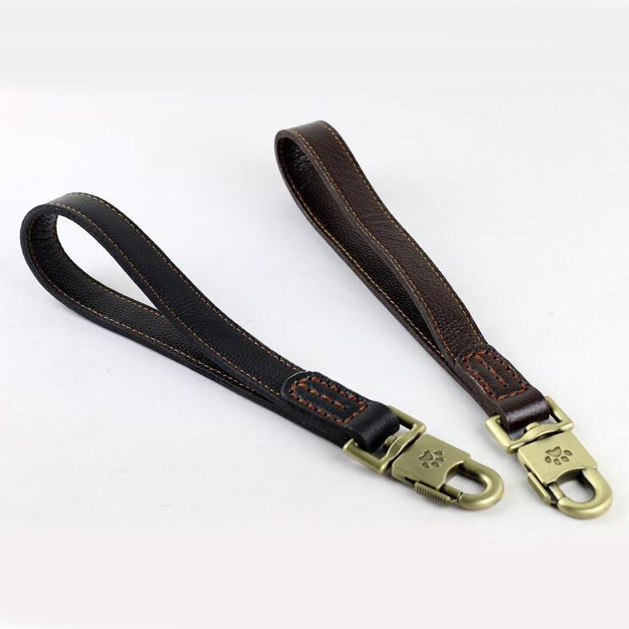 Hoher qulity Hundehalsband, der wirklichen Leder-Hundeleine Hund zieht, der Geschirr einen Schritt Zugseil großen Hund zieht Hund Freies Verschiffen