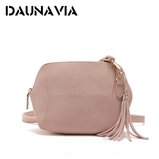 DAUNAVIA Womens Faux Suede Leather Diagonal Shoulder Bag Ladies Solid  Zipper Satchel Handbag Tote Hobo Bucket Soft Crossbody Bag de2caa4bd1
