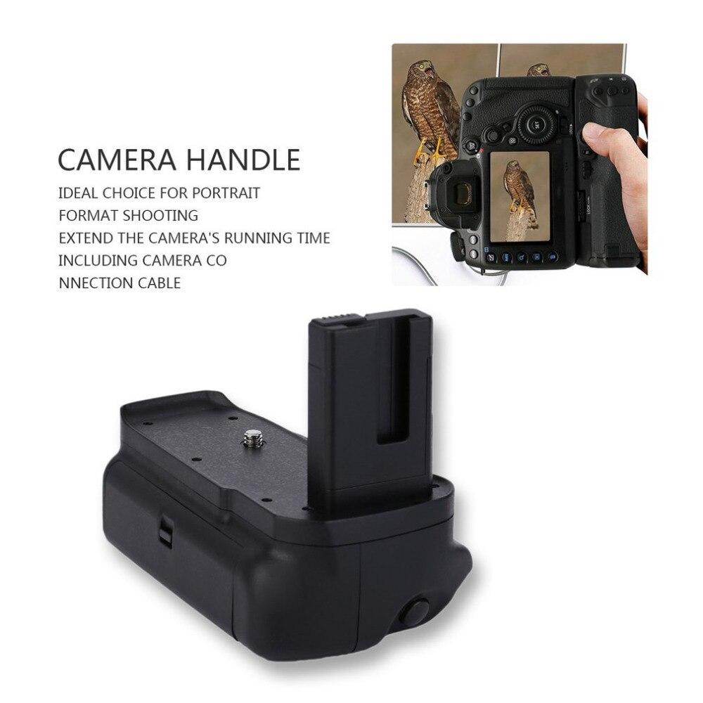 Профессиональный вертикальный Батарейная ручка для <font><b>Nikon</b></font> D3100 <font><b>D3200</b></font> D3300 цифровых зеркальных камер