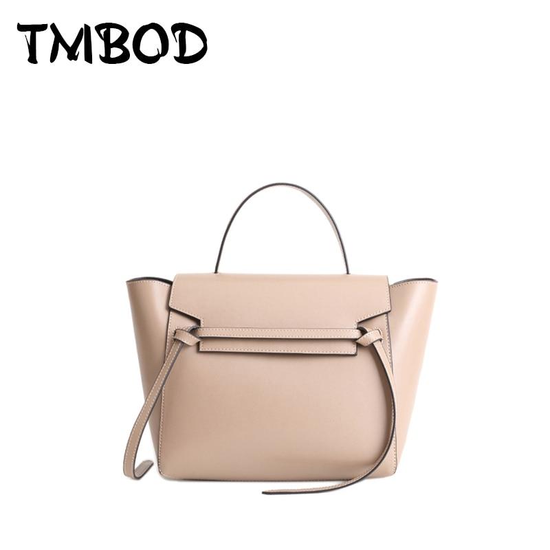 New 2018 Designer Classic Belt Bag Tote Women Split Leather Handbags Ladies Shoulder  Bag Messenger Bags For Female an316 ba730eeb63