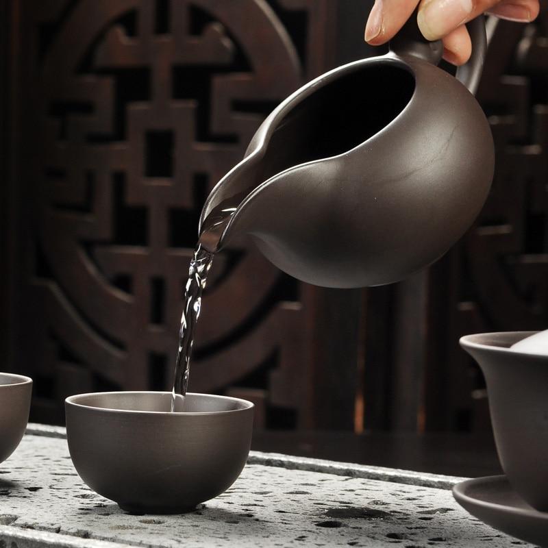 Yixing Purple Sand Gong Fu Tea Ceremony Set 3