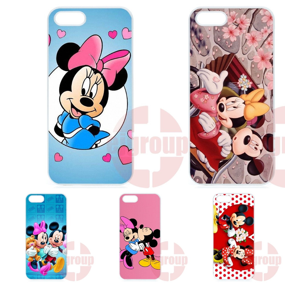For Galaxy Y S5360 Note 3 Neo Ace Nxt Plus On5 On7 On8 2016 For Amazon Fire Protective Case Mickey and Minnie Mouse
