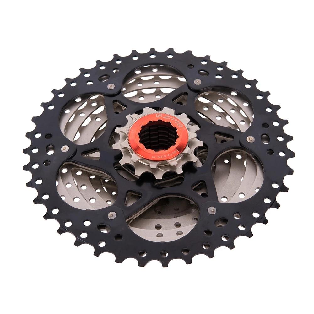 ZTTO 11-40T Gold Cassette 9 Speed Wide Ratio Freewheel for MTB Mountain Bike