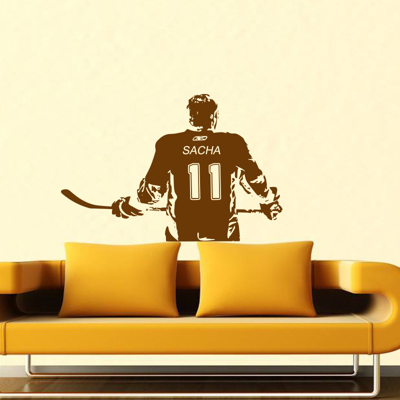 Fine Hockey Silhouette Wall Decor Crest - Wall Art Design ...