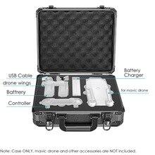 Neewer DJI Mavic Pro Drone Case Aluminum Hardshell Carrying Case Bag Suitcase for DJI Mavic Pro Drone Foldable Quadcopter Drone