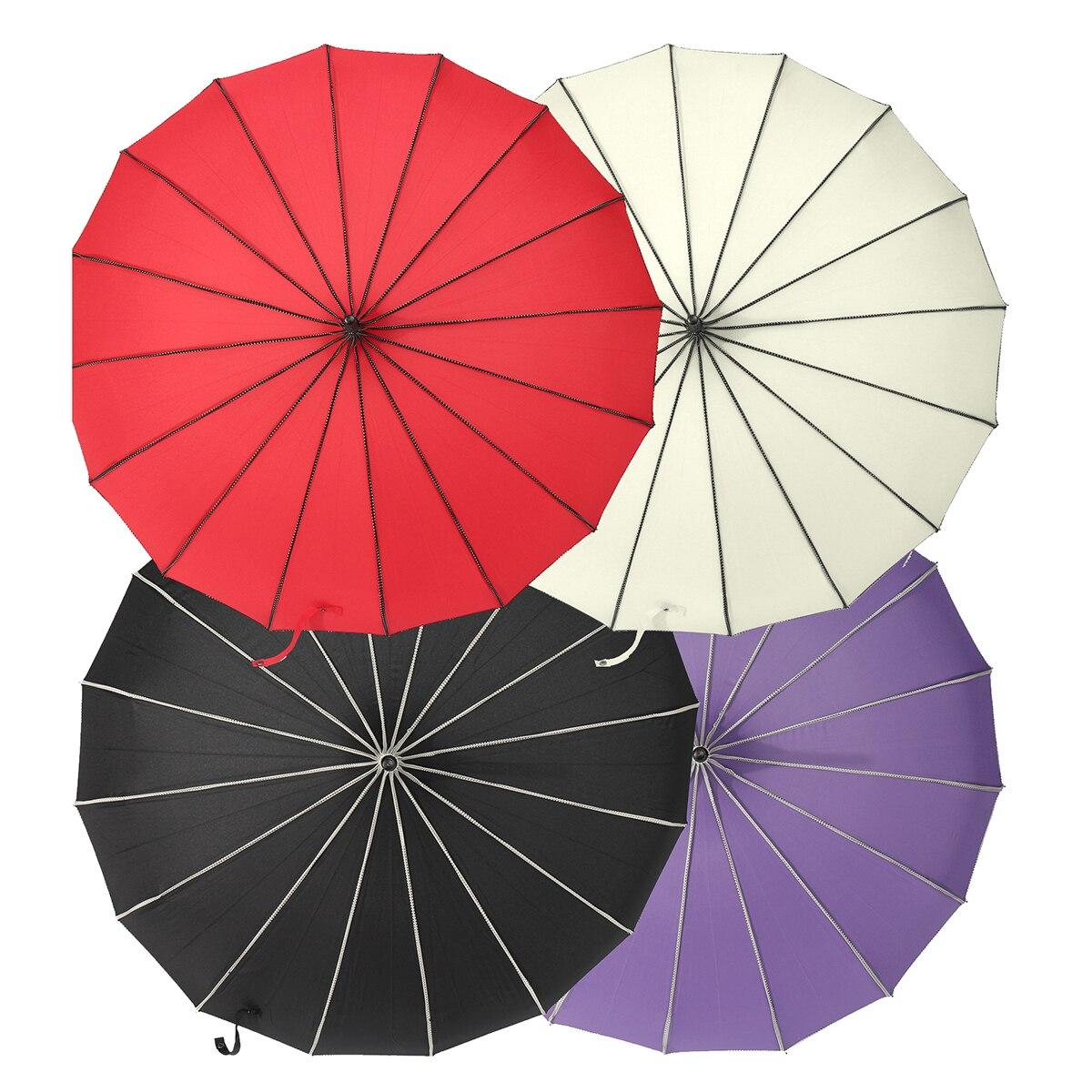 4 colori Vintage Pagoda Ombrellone per la Cerimonia Nuziale Del Partito di Sole Vento Pioggia UV Pioggia Resistente Ombrello Parasole di Cerimonia Nuziale Della Sposa