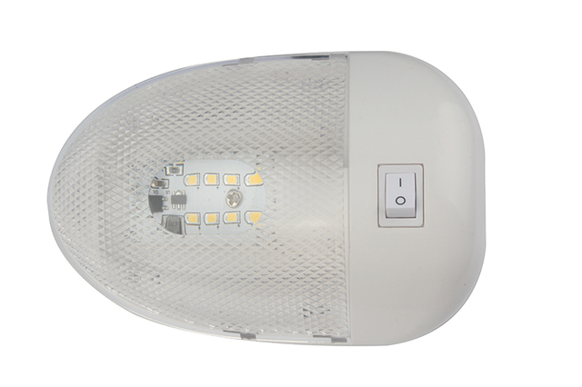$ 12.15 2W 8LED Marine Yacht Ceiling Dome Light RV Interior Lighting 12V DC Durable White Illuminating Lamp