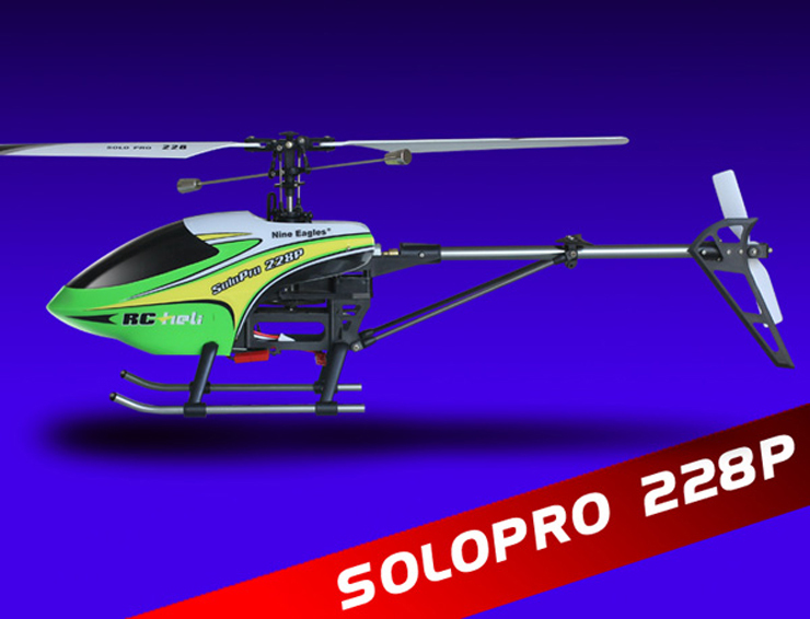 Original Nine Eagles Solo Pro 228P 4-Channel 2.4GHz RC Helicopter  RTF new in stock aih40a300n l