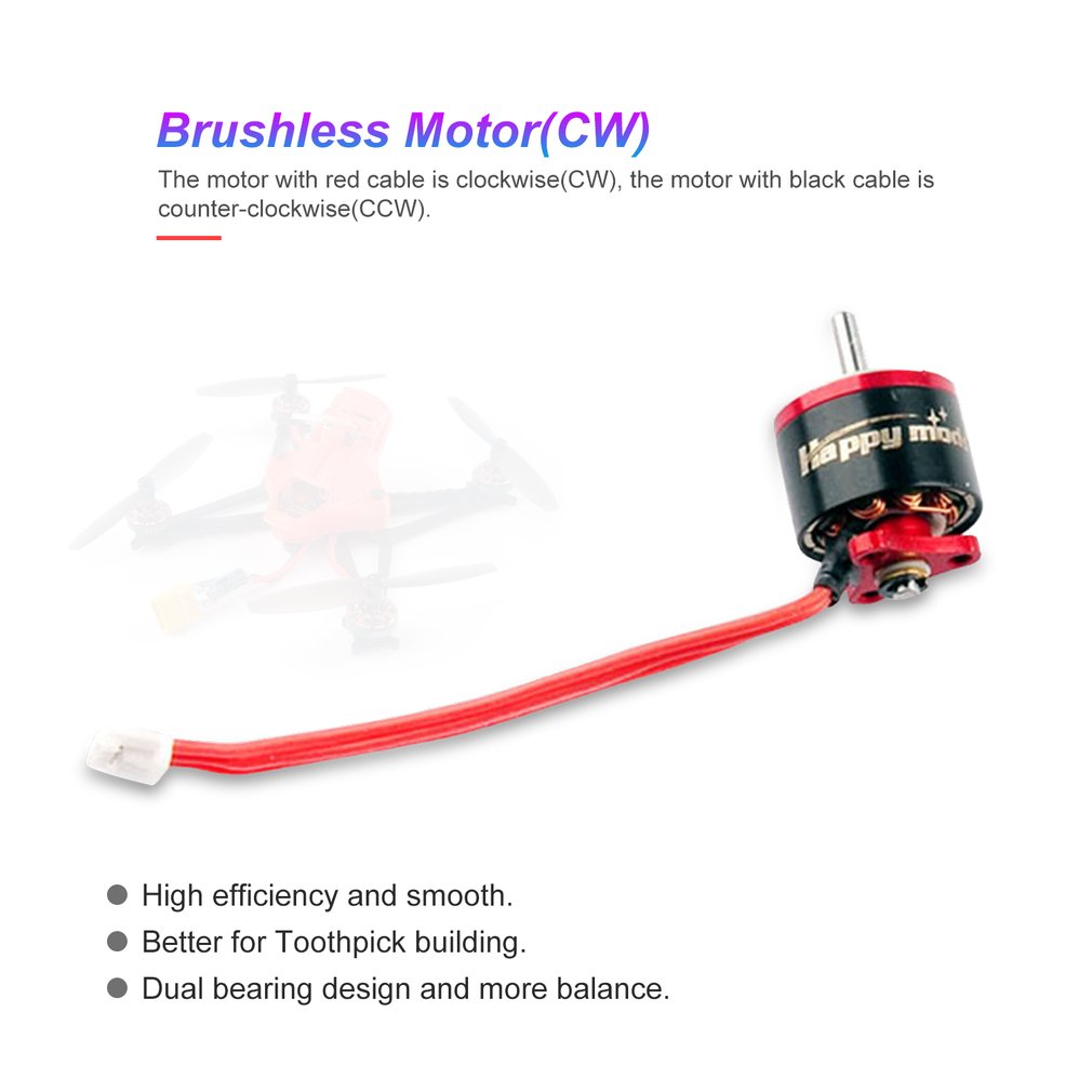 1 2S 10000KV SE0805 Brushless Motor SE Serise 0805 Motor Engine For 1s 2s 75mm 85mm whoops FPV Drone Parts DIY Accessories in Parts Accessories from Toys Hobbies