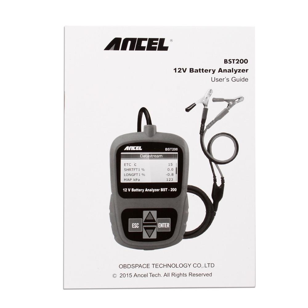 Ancel BST200 12V Car Battery Tester-15