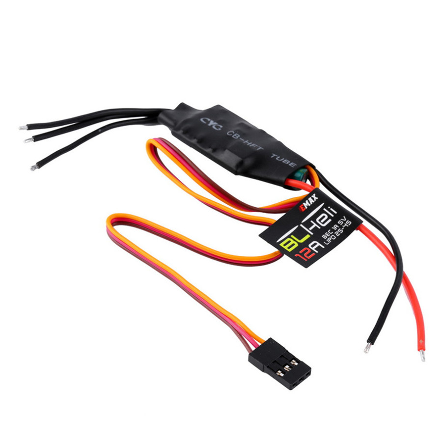 4 X Emax BLHeli Series 12A ESC Electronic Speed ​​Controller with 1A 5V BEC for drones DIY mini fpv 250 quadcopter / multimedia