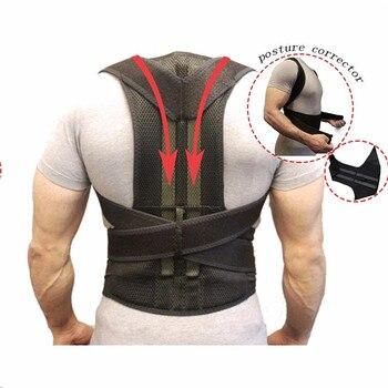 Adjustable Back Posture Corrector Clavicle Spine Back Shoulder Lumbar Brace Support Belt Posture Correction Prevents Slouching 9