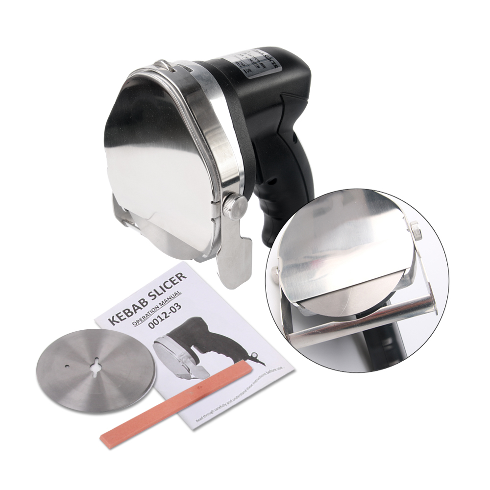 Stainless Steel Kebab Slicers Shawarma Machine Kitchen Knives Cutter Machine For Shawarma Kebab Makers Cleaver Knife in Kitchen Knives from Home Garden