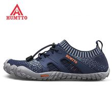 HUMTTO Mens Finger Summer Outdoor Hiking Trekking Shoes Sneakers For Men Camping Trousim Climbing Mountain Man Sport
