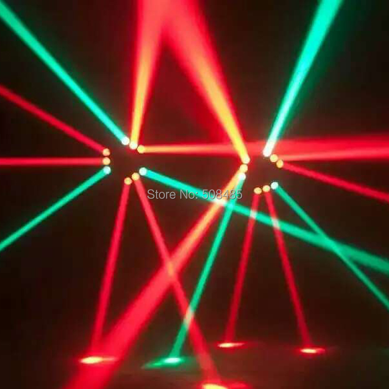 Купить с кэшбэком RGBW 4in1 9x12w Triangle Spider LED Beam Moving Head Light Colorful LED Beam Moving Head lights with great effect for party