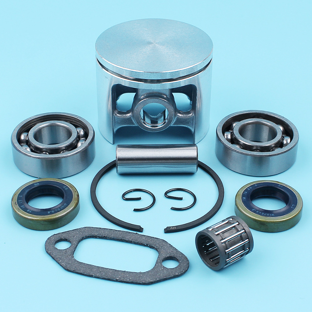 50mm Piston Crankshaft Ball Bearing Oil Seal For Husqvarna 266 266SE 162 268 Special 268K 66 Chainsaw 501 65 94-03 Spare Part