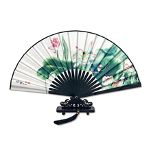 Vintage Chinese Folding Fan Hand-Held Dance Party High Quality Home Decoration Crafts 9