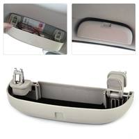 Car Grey Sunglasses Holder Glasses Storage Case Cage Box Fit For Honda HR V Vezel 2014