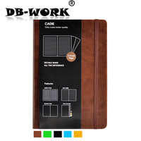 Hot Sell 2019 Leather notebook 18 months efficiency this week calendar notepade notebook customization