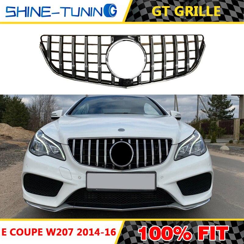 Uygun mercedes E sınıfı için W207 C207 amg E Coupe Cabriolet cabrio GT ızgara GT R spor E200 E300 E400 e250 E500 2014-16