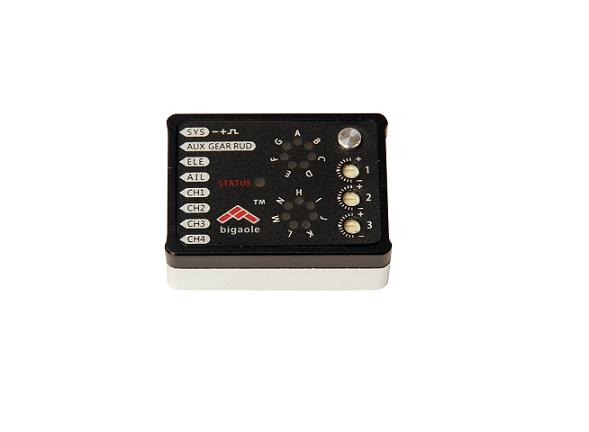 Bigaole V3 3-Axis Flybarless Helicopter Control System with Sbus& Satellite BGL007-008 Microbeast Plus helicopter