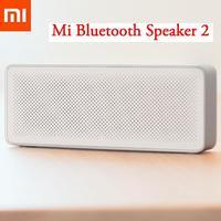 Original Xiaomi Mi Altavoz Bluetooth caja cuadrada 2 portátil Bluetooth 4,2 de alta definición de calidad de sonido con micrófono