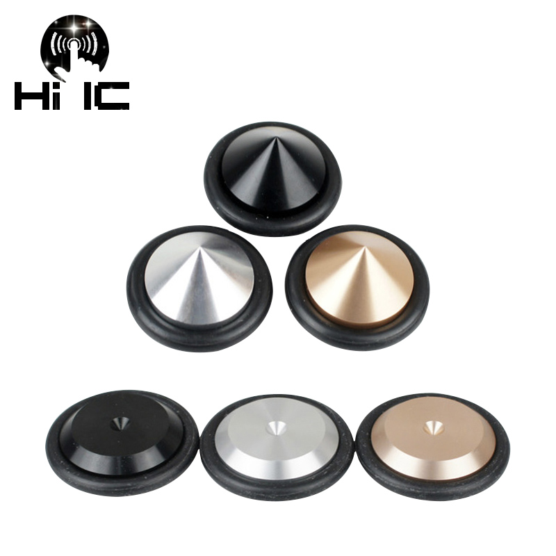 4pcs Hifi Audio Speakers Amplifier Aluminum Anti-shock Shock Absorber Foot Pad Feet Nail Pads Vibration Absorption Stands To Enjoy High Reputation In The International Market