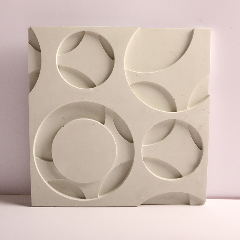 Concrete Wall Brick Silicone Mold 3D Gypsum Background Wall Brick Mold Can Be Customized Cement Wall Brick Mold