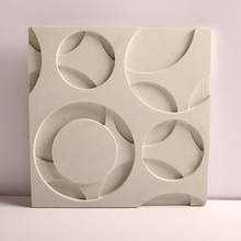 Concrete wall brick silicone mold 3D gypsum background wall brick mold