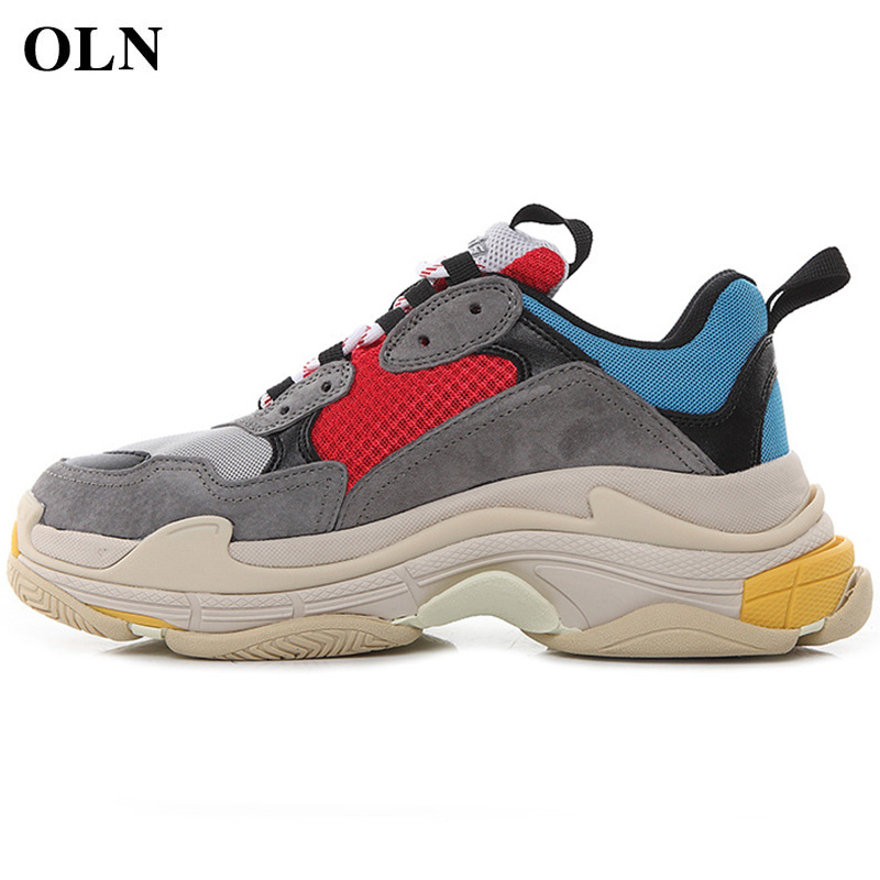 OLN Men Woman Brand Outdoor Athletic Sport Shoes For Comfortably breathable Men Running Shoes Lovers increased Womens SneakersOLN Men Woman Brand Outdoor Athletic Sport Shoes For Comfortably breathable Men Running Shoes Lovers increased Womens Sneakers