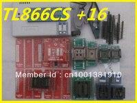 Free Shipping V9.16 MiniPro TL866CS TL866II Plus TL866A nand flash 24 93 25 PIC AVR EEPROM USB Universal Programmer+15 adapters