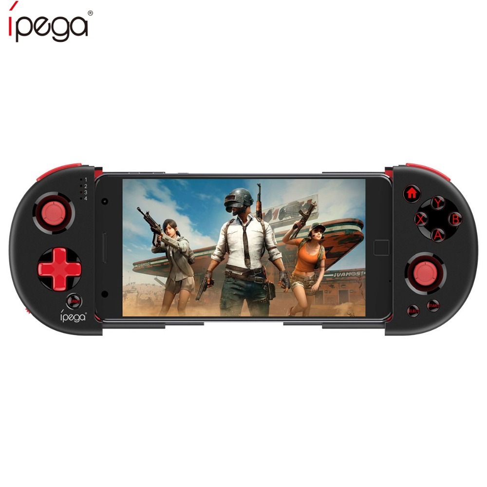 IPEGA PG-9087 Bluetooth Wireless Game Controller Gamepad Joystick for Android/Samsung GALAXY S7 S8/S8+GALAXY note8 S9/S9+ PC azv 6d screen protector for samsung galaxy s8 s9 note8 curved edge glass for samsung s9 s8 plus s6 s7edge plus tempered glass