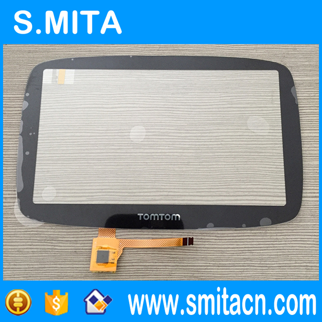 5 Inch Black Touch Screen For Tomtom GO 500 GO 5000 Touch Screen Digitizer Glass Sensor Panel Lens Replacement