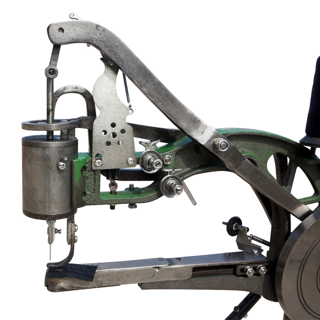 0a3450298 Máquina mano Máquina de Reparación de Calzado Zapatero Doble Algodón Nylon Línea  de La Máquina de